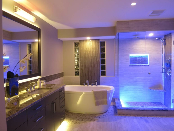 Dusche Led Licht : LED Accent Lighting Bathroom