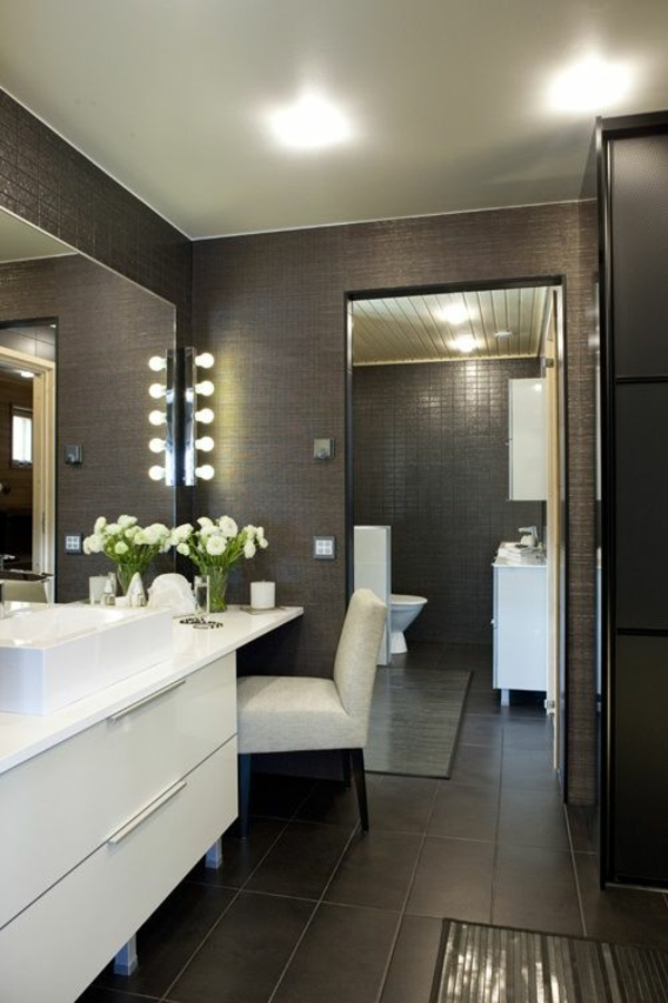 Half Bathroom Ideas Gray