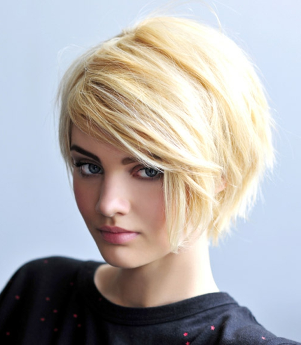Frisuren damen blond mittellang bilder