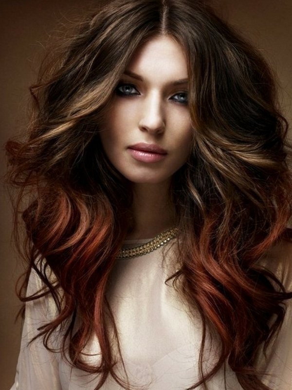 coole haare ombre stil