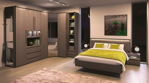 eckkleiderschrank praktische und moderne interieur l sung. Black Bedroom Furniture Sets. Home Design Ideas