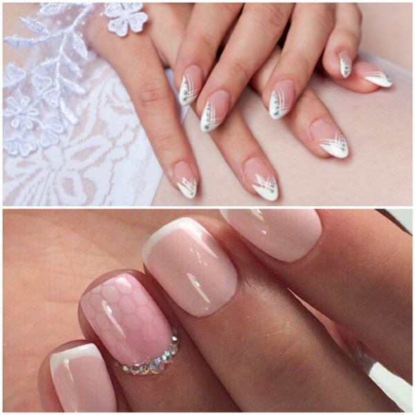 fingernaegeldesign hochzeitsnaegel bilder nageldesign fotos