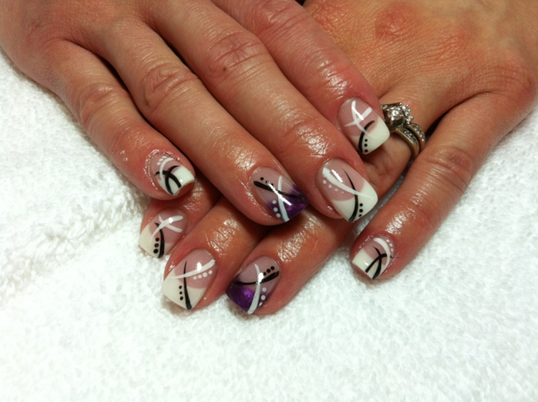 french nails muster french nails bilder