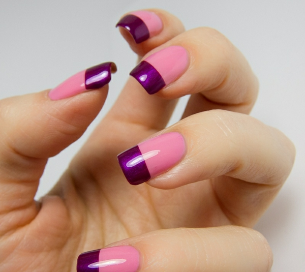 french nails muster nageldesign