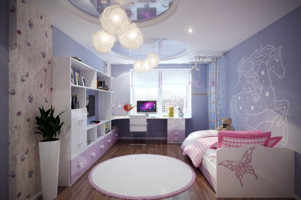 kinderzimmer lampen kreieren die vollkommene zimmereinrichtung. Black Bedroom Furniture Sets. Home Design Ideas