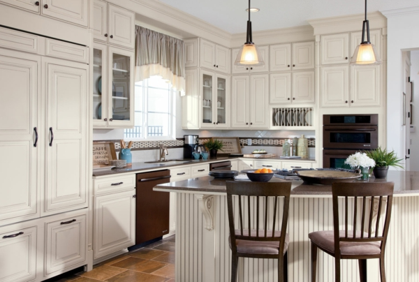 Shaker Cherry Kitchen Cabinets Photos