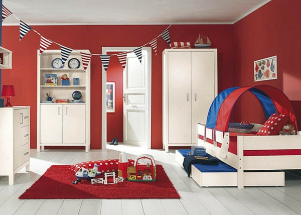 1001 kinderzimmer streichen beispiele tolle ideen f r die wandgestaltung. Black Bedroom Furniture Sets. Home Design Ideas
