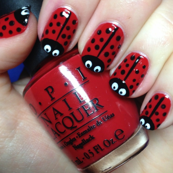 nageldesign fingernagel muster