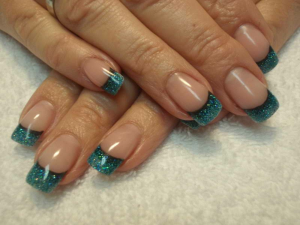 nageldesigns french nails muster ideen