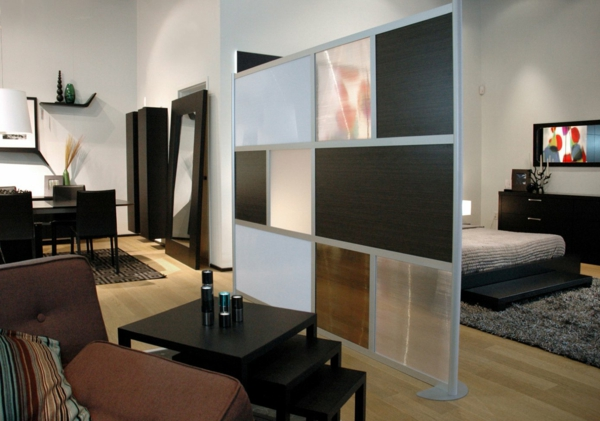 tolle raumtrenner designs und hinweise f r ihre nutzung. Black Bedroom Furniture Sets. Home Design Ideas