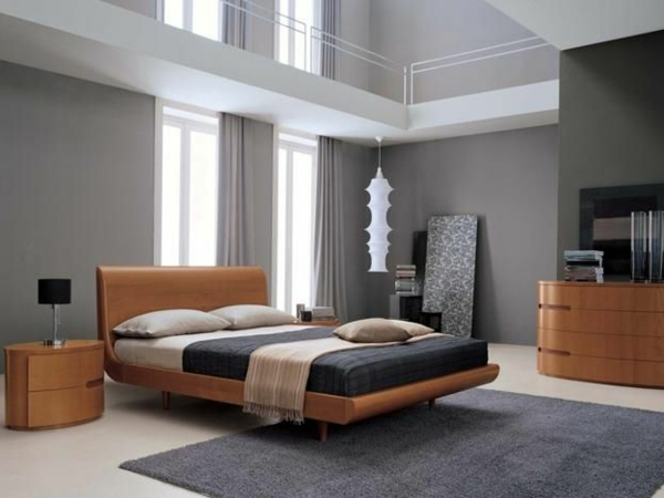 schlafzimmer idee modern. Black Bedroom Furniture Sets. Home Design Ideas