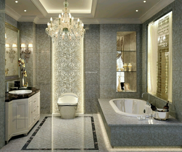 Lampe F?r Dusche : Luxury Bathroom Design