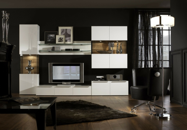 wohnwand design holz neuesten design kollektionen f r die familien. Black Bedroom Furniture Sets. Home Design Ideas