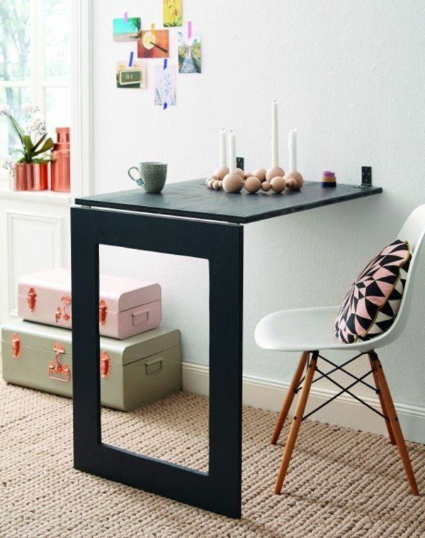 klapptisch designs funktionalit t und stil in der wohnung vereinigen. Black Bedroom Furniture Sets. Home Design Ideas