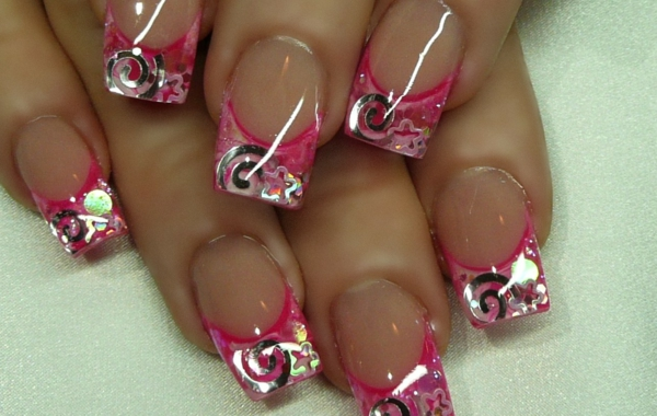 Nail Art Valentines Day Design Simple Design