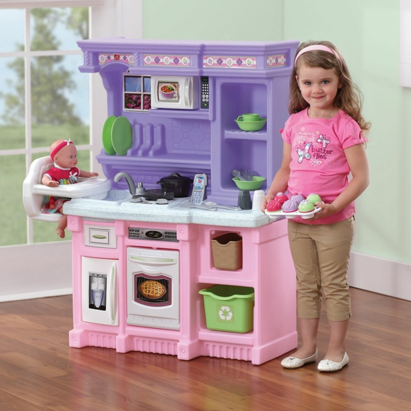 Kinderk chen machen das kinderzimmer l stiger und freundlicher for Best kitchen set for 4 year old