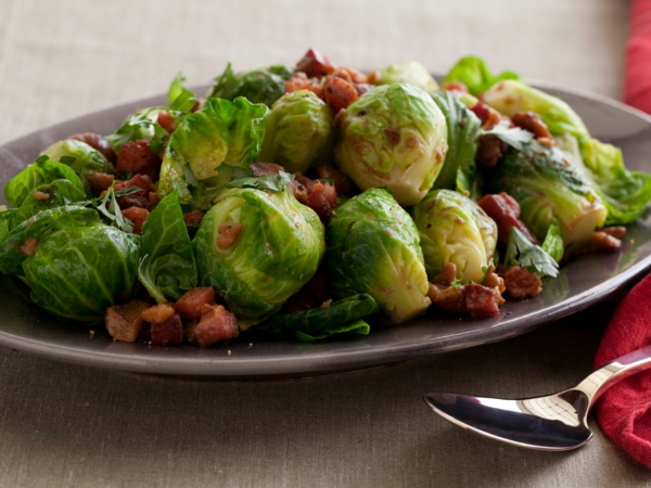 Brussel Sprout Pancetta Heavy Cream Food Network