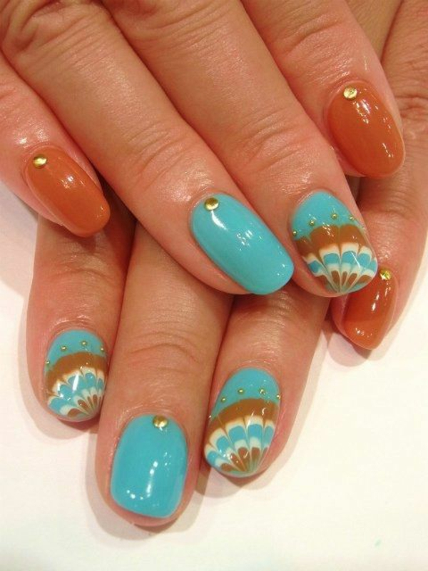 Autumn Gel Nails Designs