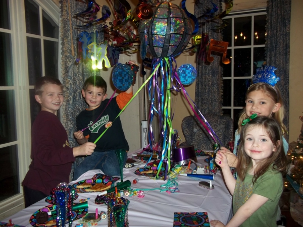 silvesterparty ideen silvester dekoration kinderparty