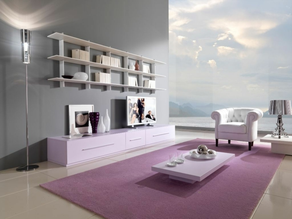 wandfarbe grau ist der neue trend in der zimmergestaltung. Black Bedroom Furniture Sets. Home Design Ideas