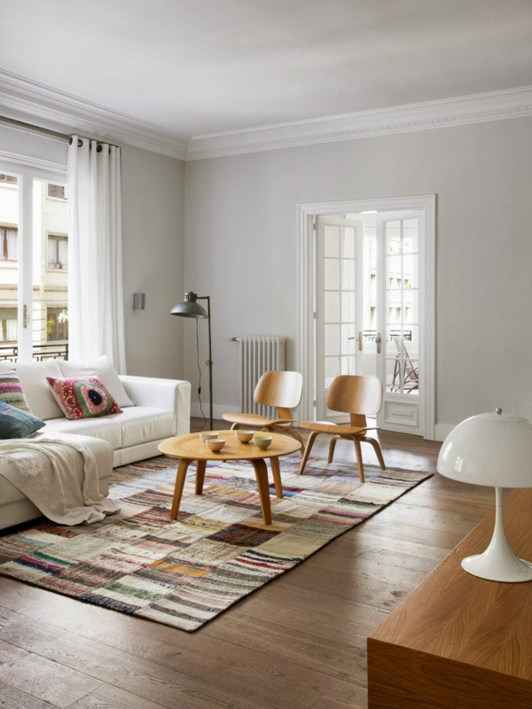 Scandinavian Style Living Room Window