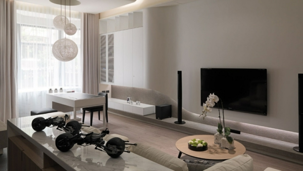 wohnzimmertische designs wohnzimmer mit au erordentlichem look. Black Bedroom Furniture Sets. Home Design Ideas