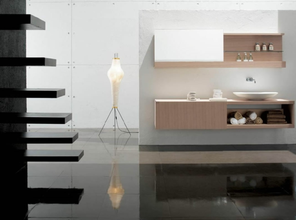 spiegelschrank f r bad die funktionalit t im modernen design. Black Bedroom Furniture Sets. Home Design Ideas