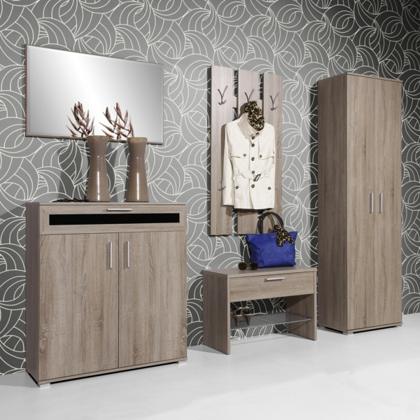 dielenschrank gestaltungsideen f r den flur. Black Bedroom Furniture Sets. Home Design Ideas