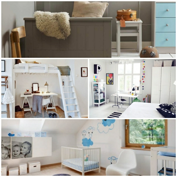 m bel im kinderzimmer einrichtung nach skandinavischer art. Black Bedroom Furniture Sets. Home Design Ideas