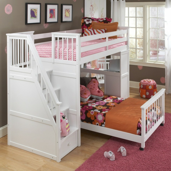 ausgefallene kinderbetten als hauptakzent im kinderzimmer. Black Bedroom Furniture Sets. Home Design Ideas