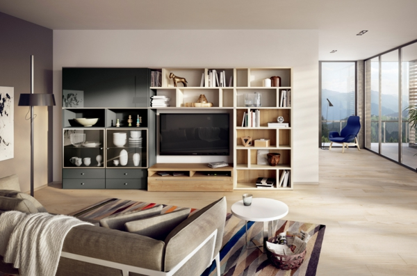 deko moedern f r wohnzimmer. Black Bedroom Furniture Sets. Home Design Ideas