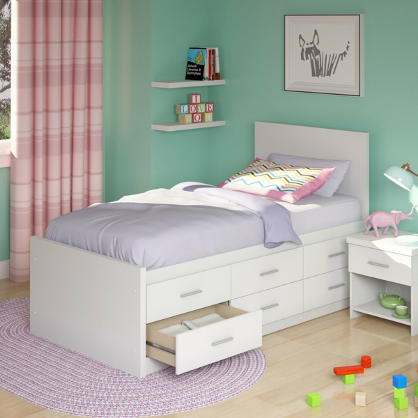Twin Captain Bed With Drawers Plans