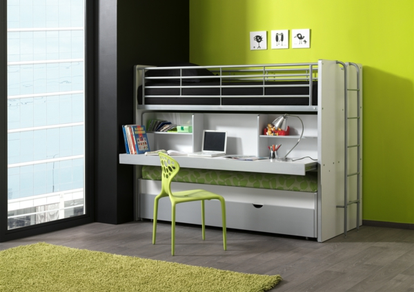 kleines kinderzimmer einrichten und das richtige kinderbett ausw hlen. Black Bedroom Furniture Sets. Home Design Ideas