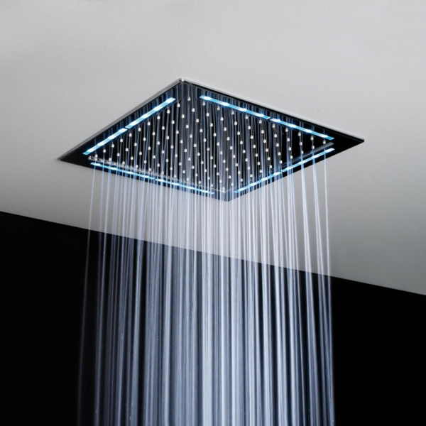 flush mount ceiling rain shower head duschkopf fr das badezimmer passend aussuchen fixed head. Black Bedroom Furniture Sets. Home Design Ideas