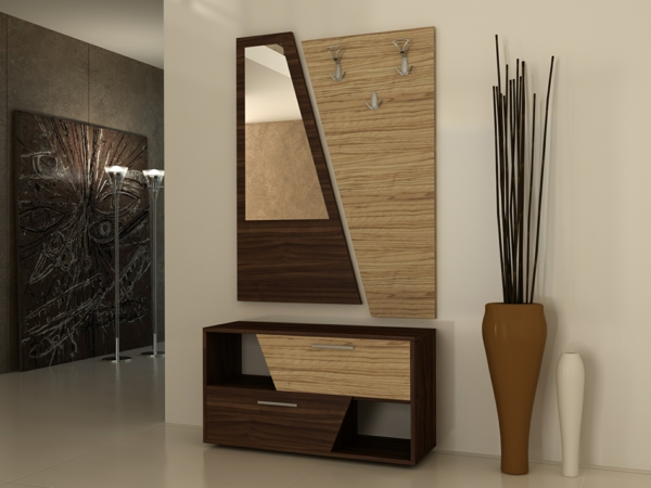 flurgarderobe richtig ausw hlen f r eine kompakte einrichtung. Black Bedroom Furniture Sets. Home Design Ideas