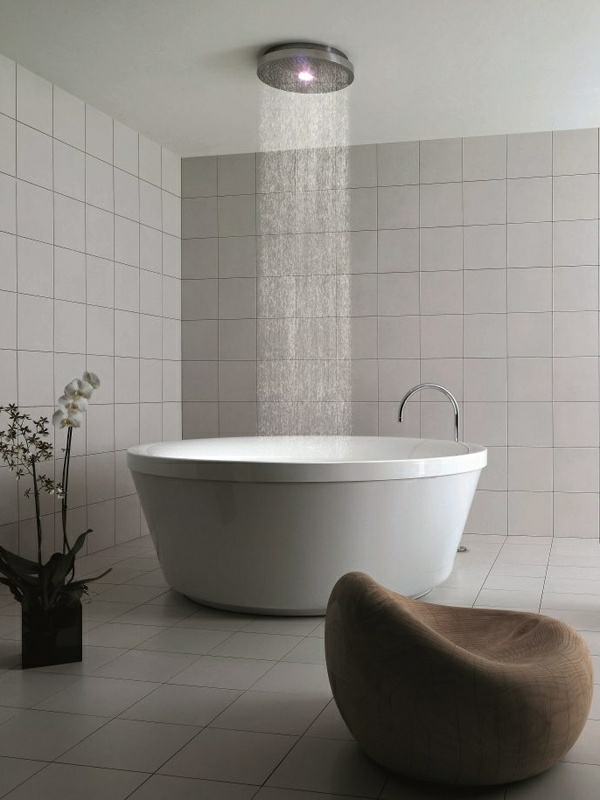 20 runde badewanne designs die das bad in ein paredies for Sessel quietscht