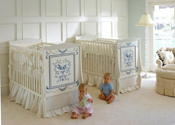 Twins Baby Room Decorating Ideas