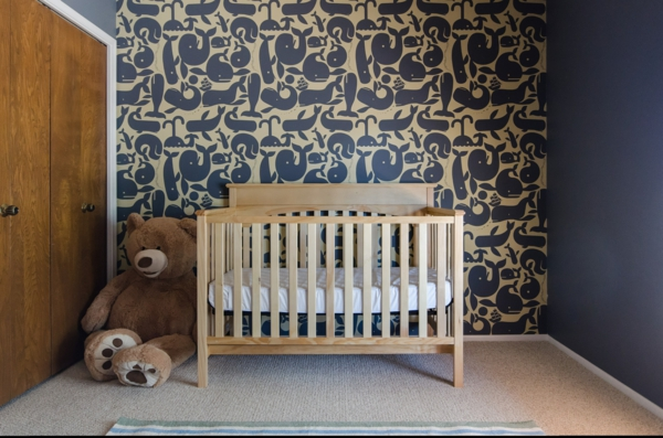 babytapeten f gen reiz und charme zum babyzimmer interieur hinzu. Black Bedroom Furniture Sets. Home Design Ideas