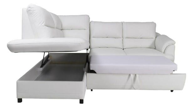 schlafsofa mit bettkasten als schlafalternative f r sie und ihre g ste. Black Bedroom Furniture Sets. Home Design Ideas
