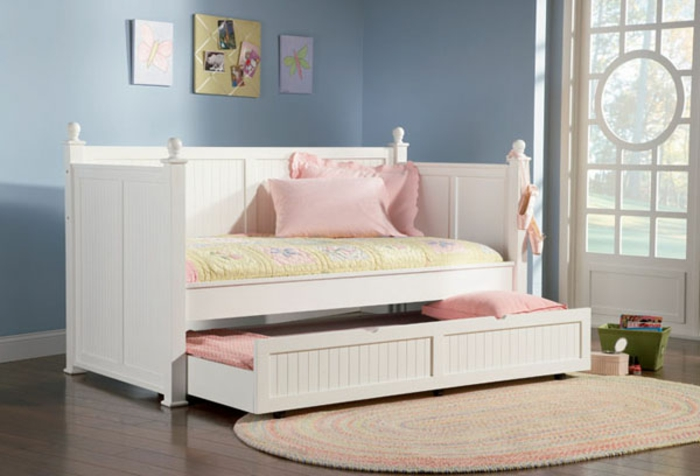 kinderbetten aussuchen coole rollbetten f rs schlafzimmer ihrer kinder. Black Bedroom Furniture Sets. Home Design Ideas