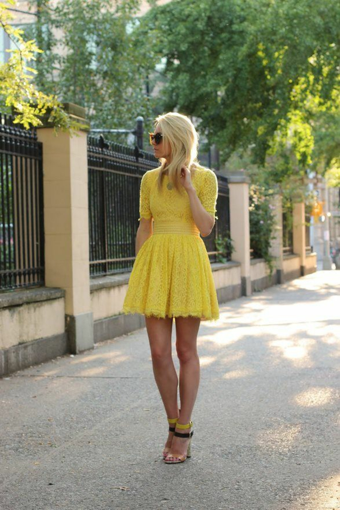 Yellow Pumps Dress Shoes