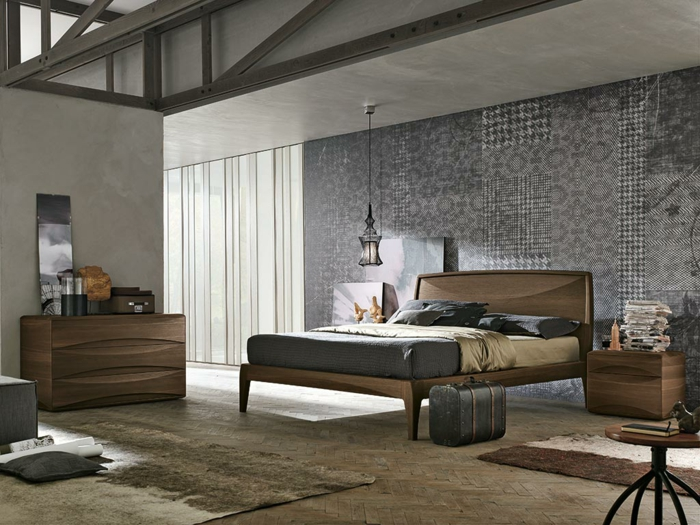 tapeten ideen f r die gestaltung des innen und au enbereiches. Black Bedroom Furniture Sets. Home Design Ideas