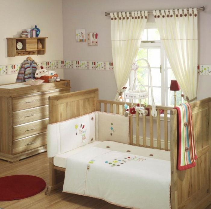 babyzimmer gestalten neutrale farben passen f r m dchen. Black Bedroom Furniture Sets. Home Design Ideas