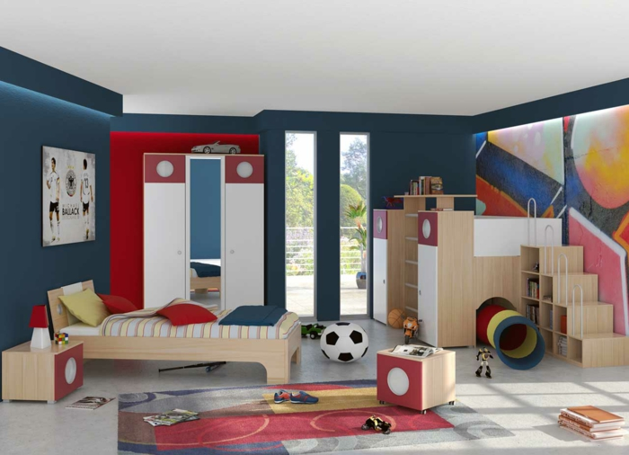 kinderzimmer f r jungs kinderzimmer junge kinderzimmer ideen. Black Bedroom Furniture Sets. Home Design Ideas