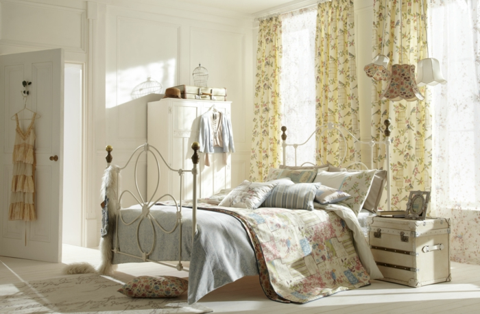 Schlafzimmer Gestalten Shabby : Shabby Chic Bedroom Decorating Ideas