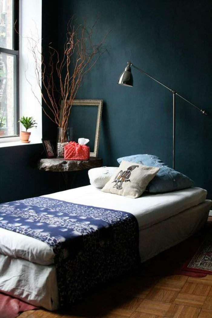 petrol farbe als wandfarbe und deko. Black Bedroom Furniture Sets. Home Design Ideas