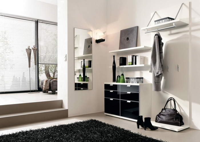 hauseingang dekorieren ideen f r eine charmante einrichtung. Black Bedroom Furniture Sets. Home Design Ideas