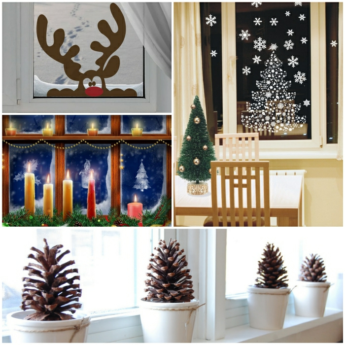 fensterdeko weihnachten wieder mal tolle ideen daf r. Black Bedroom Furniture Sets. Home Design Ideas
