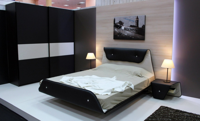 au ergew hnliche schlafzimmer betten. Black Bedroom Furniture Sets. Home Design Ideas