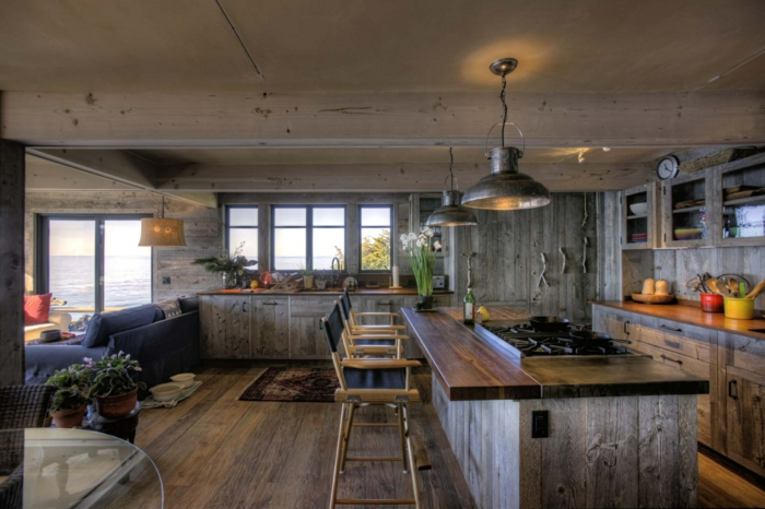 Small Rustic Kitchen Plans